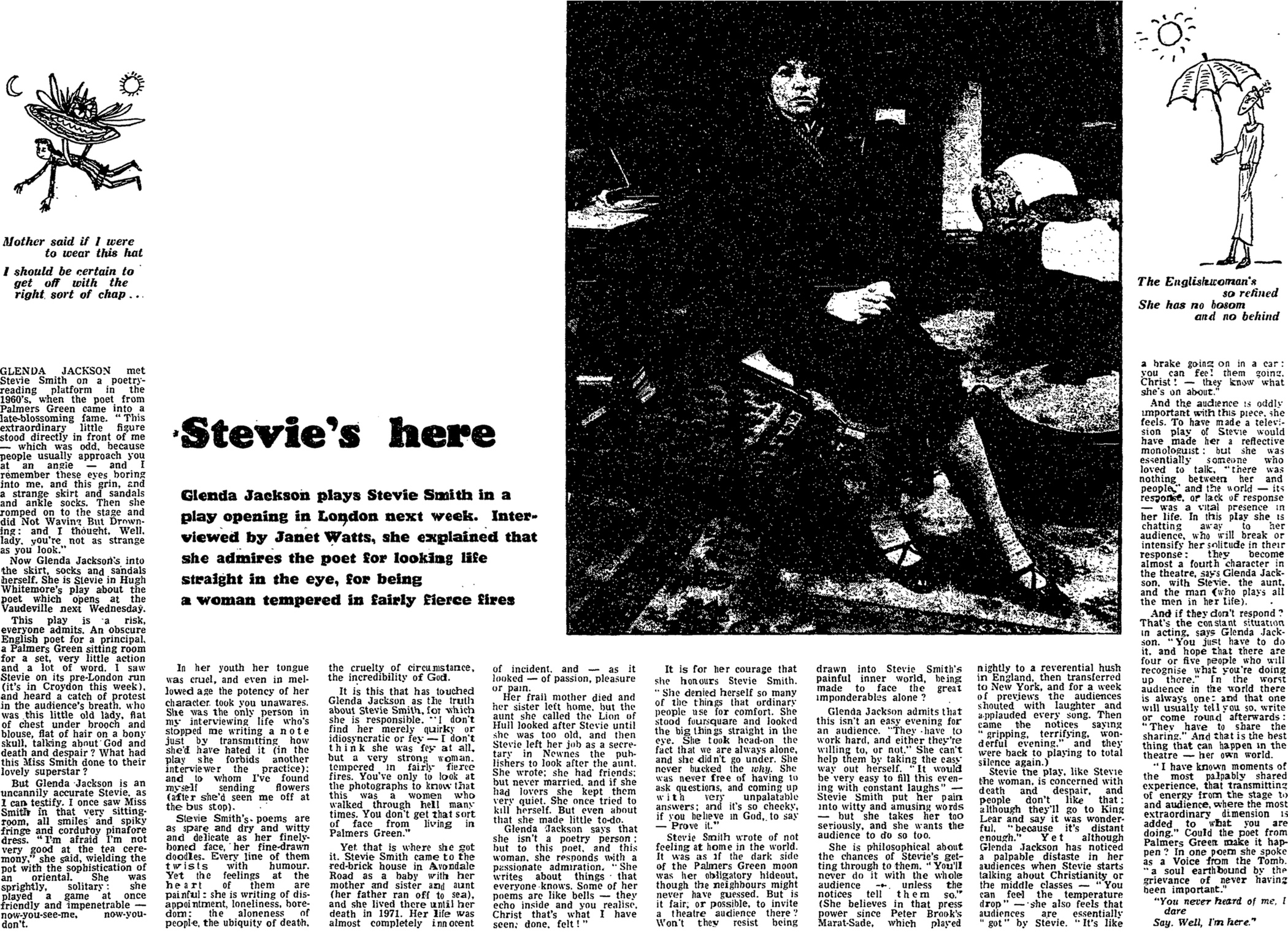 an analysis of florence stevie smiths poem marriage i think The application of musical analysis to further these goals is often a part of music history, though pure analysis or the development of new tools of music analysis is.