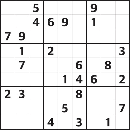 image relating to Printable Hard Sudoku named Sudoku 4,124 complicated Lifetime and style and design The Mother or father