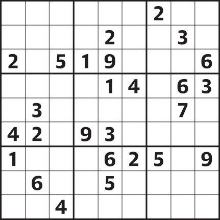 Unusual image throughout printable sudoku hard