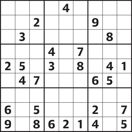 picture regarding Medium Sudoku Printable known as Sudoku 4,199 medium Daily life and design The Dad or mum